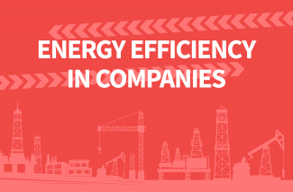 Infographic Energy efficiency in companies