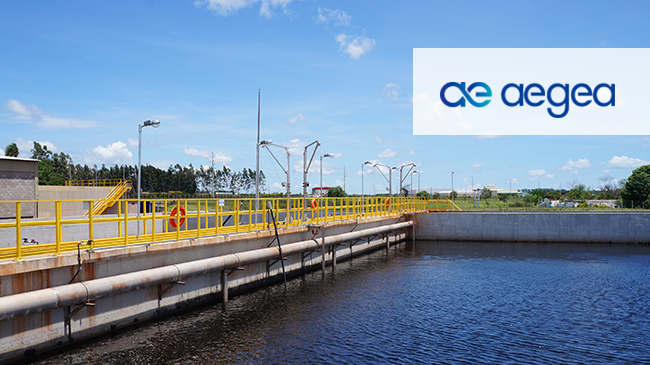 AEGEA sanitation implements Viridis integrated management system